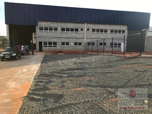 Galpão Para Alugar, 1280 M² Por R$ 22.000,00/mês - Área Industrial - Boituva/sp - Ga0117