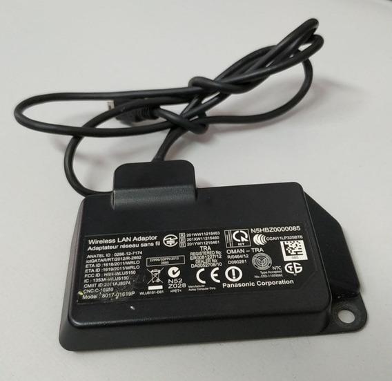Adaptador Wireless Wi-fi Panasonic Tc-l42et5b 8017-01619p