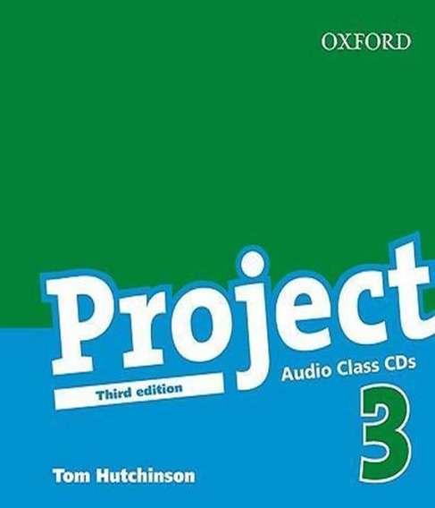 Livro Project 3 - Class Audio Cds - 03 Ed