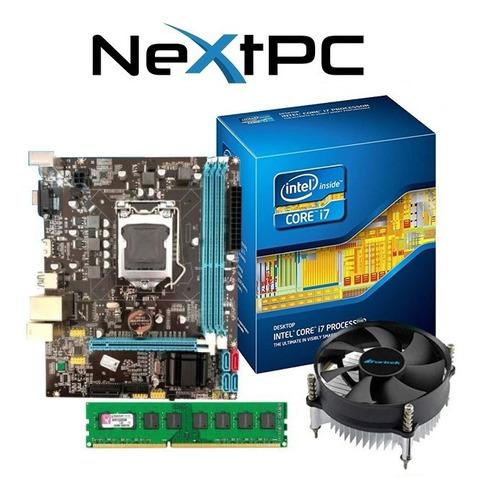 Kit I7 3770 3.90 Ghz + Placa H61 1155 + 4gb Ddr3 + Cooler