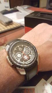 Reloj Alta Gama Cuero Crono Michael D