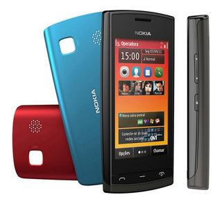 Celular Nokia 500 - Desbloqueado - Wi-fi, 5mp, Fm,