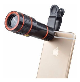 Lente Luneta Para Celular Smartphone Zoom 12x