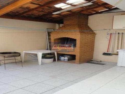 Sobrado Com 3 Dormitórios À Venda, 136 M²  Jardim Dourado - Guarulhos/sp - Ai18416