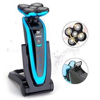 Afeitadora Giratoria Eléctrica Para Hombres, Jinding 5580