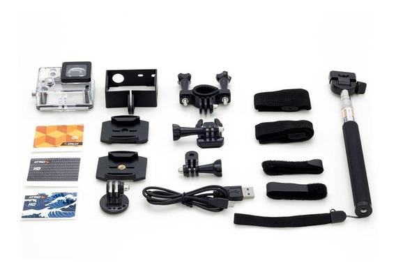 Camera Ação Full Sports Similar Go Pro Full Hd Prova D