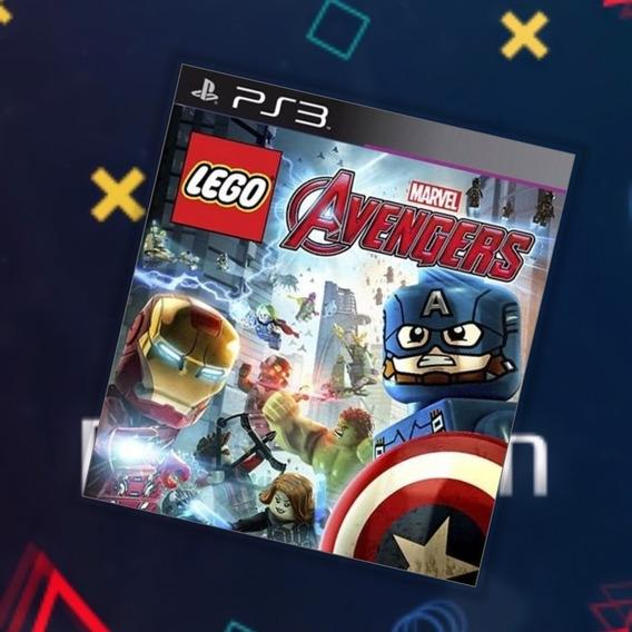 Lego Vingadores Lego Avengers Ps3 Via Psn Original