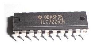 Conversor Digital/analógico Tlc7226 - Arduino