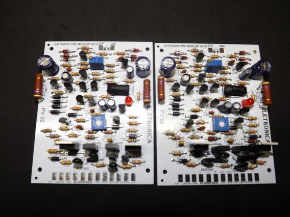 Kit Excitador Pre Studio R Linha Z E X Bx