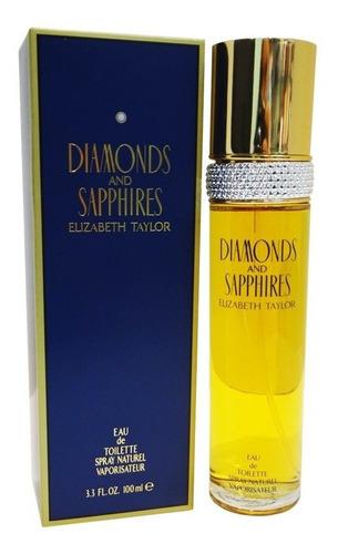 Perfume Locion Diamonds Y Saphires 100ml Original