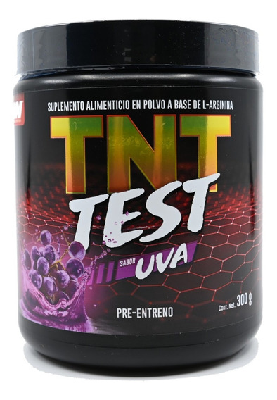 Pre Entreno Tnt Test Advance Nutrition 300 Gramos , 30 Porciones