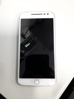 Smartphone Moto G4 Plus Dual Tela 5.5 32gb Branco + Brinde