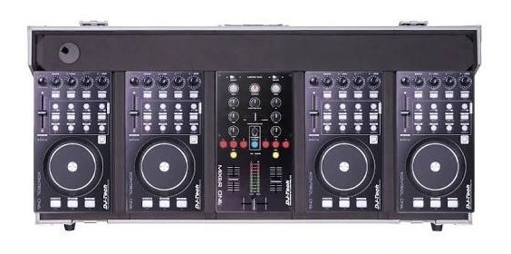 Kit Hibrid 101 - Dj-tech + Case