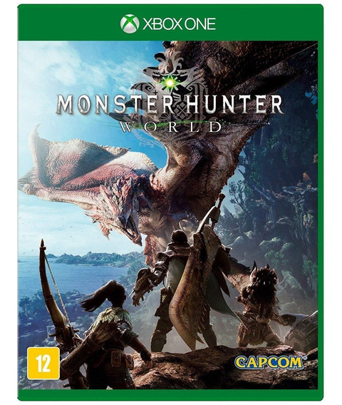 Monster Hunter World - Xbox One - Novo - Midia Fisica