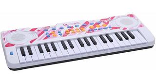 Piano Musical Teclado Musical Niñas C/ Micrófono 37teclas