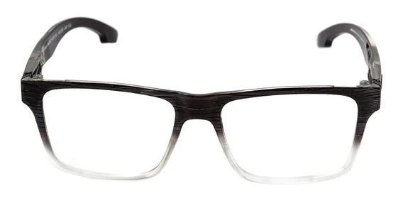Óculos Grau Mormaii Swap Clip On Preto Lentes Prata