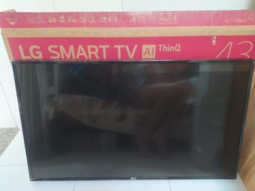 Smart Tv LG Ai Thinq 43lk5750psa Lcd Full Hd 43 Lcd Quebrado