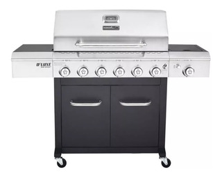 Parrilla A Gas - Bbq Grill - 6 Quemadores Dual Energy Deluxe