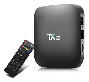 Smart Tv Box Tx2 Android 7.1 2gb Ram 16gb Rom