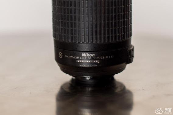 Lente Nikon 55-200 Mm Usada