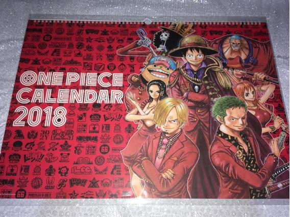One Piece Calendário 2018 Gigante Original Shueisha