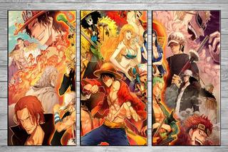 Oferta Cuadros Modernos One Piece Posters 90x 57 Cm N9