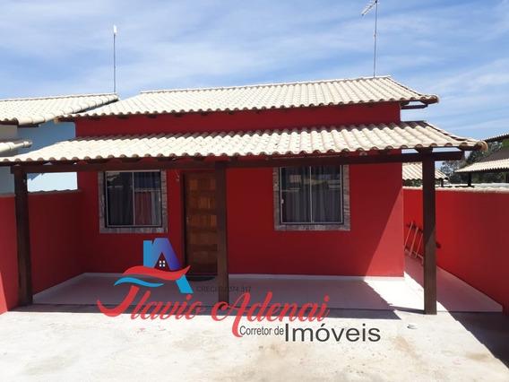 Linda Casa 2 Quartos Com Ótimo Terreno Em Unamar ? Cabo Frio - Fac 150 - 34128180