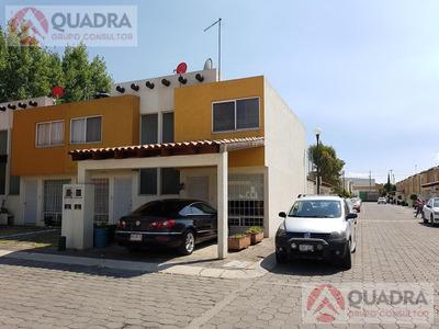 Casa En Renta Amueblada En Fraccionamiento Villas Cruz Del Sur Cholula Puebla