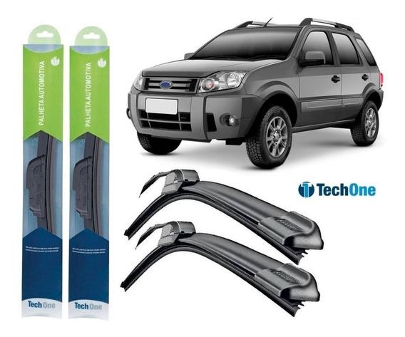 Kit Palhetas Parabrisa Ford Ecosport 2003/2012