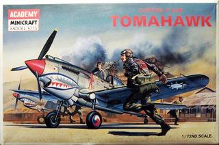 Curtis P-40b Tomahawk Escala 1/72 Academy 1655