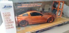 Miniatura 2010 Mustang Gt Rodas Extras Lopro Jada 1/24