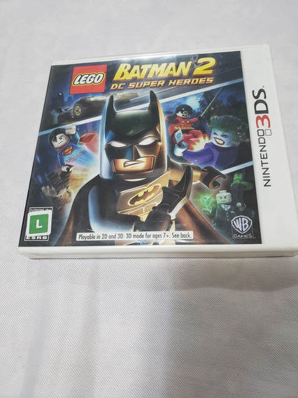 Lego Batman 2 Dc Super Heror Nintendo 3ds
