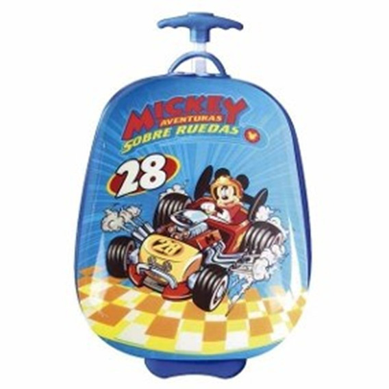 Mochila Escolar Carro 16 Semirigida Mickey Tsum Tsum Minnie
