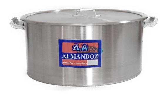 Cacerola Gastronómica Aluminio Reforzado N°40 - 25 Lts