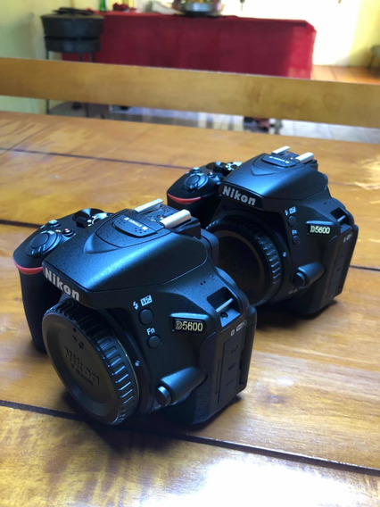 2 Câmeras Cannon D5600 + 1 Câmera Cannon T7i