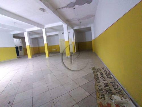 Imagem 1 de 11 de Salão Para Alugar, 300 M² Por R$ 5.000,00/mês - Vila América - Santo André/sp - Sl0298