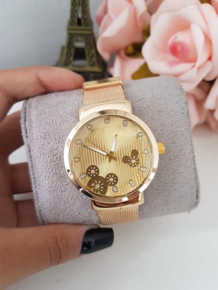 Relógio Mickey Feminino De Aço