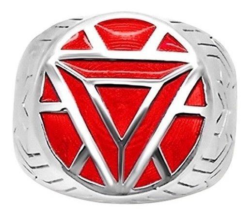 Anillos Para Hombre Menøs Iron Man Armor Ring - 11 - Red