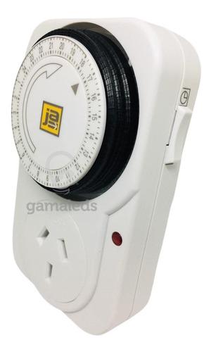Timer Programable Mecanico Enchufable Vidriera 2hp