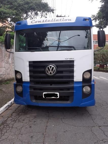 Caminhão Limpa Fossa E Hidrojato Vw13180 Constellation 2010