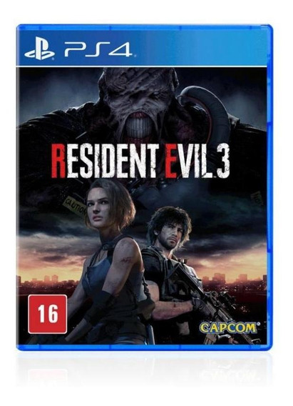 Jogo Game Mídia Física Resident Evil 3 - Ps4