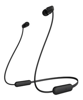 Sony Wi-c200 Black Audifonos Inalámbricos