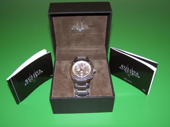 Relógio Bulova, Movimento Cronógrafo Swiss Made, Corvara