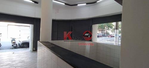 Imagem 1 de 8 de Loja Para Alugar, 70 M² Por R$ 5.000,00/ano - Centro - Santos/sp - Lo0313