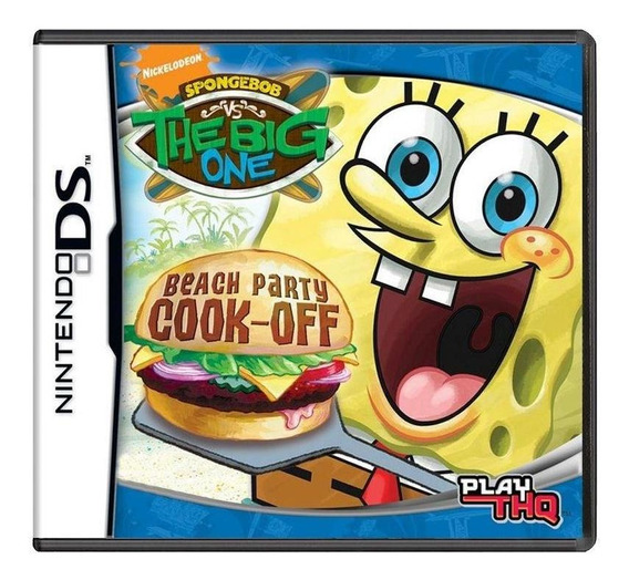 Spongebob Vs. The Big One Beach Party Cook-off Ds