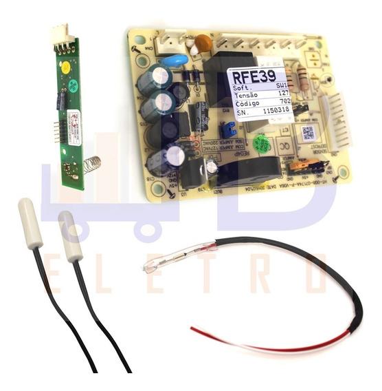 Kit Placas Sensores Fusível Geladeira Electrolux Rfe39