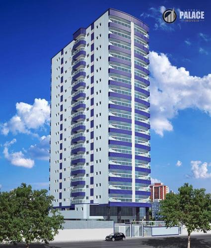 Imagem 1 de 16 de Apartamento Com 3 Dormitórios À Venda, 93 M² Por R$ 535.000,00 - Vila Tupi - Praia Grande/sp - Ap2862