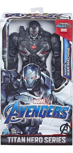 Imagen 1 de 7 de Figura Muñeco Titan Hero Series Marvel Avengers War Machine