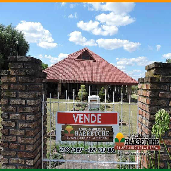 Vendo Chacra En Canelones 5 Has Gran Casa, Galpones, Aguadas