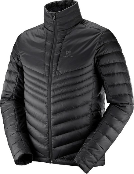 Campera Salomon Haloes Down Inflable Pluma Hombre